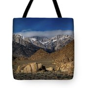 Alabama Hills, Ca Tote Bag