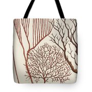 Aquatic Animals - Seafood - Algae - Seaplants - Coral Tote Bag