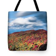 Beautiful Autumn Landscape In North Carolina Mountains Tote Bag