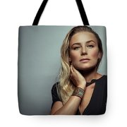 Beautiful Woman Portrait Tote Bag