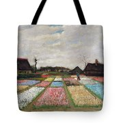 Flower Beds In Holland Tote Bag