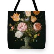 Flower Vase Tote Bag