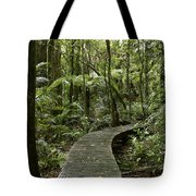 Forest Boardwalk Tote Bag
