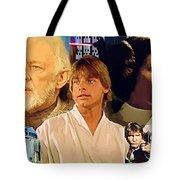 Galaxies Star Wars Poster Tote Bag
