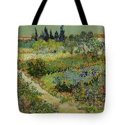 Garden At Arles Tote Bag