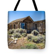 Homestead, Bodie Ghost Town Tote Bag