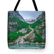 Inside Passage Mountain Views Around Ketchikan Alaska Tote Bag