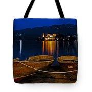 Island Of San Giulio Tote Bag