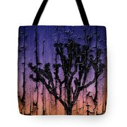 Joshua Tree With Special Effects Tote Bag