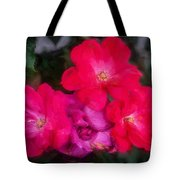 Knockout Roses Painted  Tote Bag