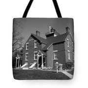Lighthouse - 40 Mile Point Michigan Tote Bag