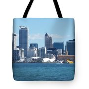 New Zealand - The Sea Heart Of Auckland Tote Bag