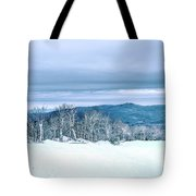 North Carolina Sugar Mountain Skiing Resort Destination Tote Bag