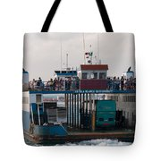 On The Way To Isla Muheres Tote Bag