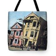 San Francisco Earthquake Tote Bag