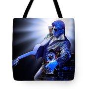 Silver Elvis Tote Bag