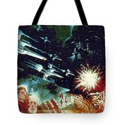 Star Wars Galactic Heroes Art Tote Bag