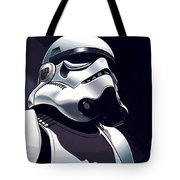 Star Wars The Trilogy Poster Tote Bag