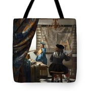 The Art Of Painting Tote Bag