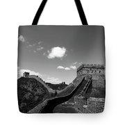 The Great Wall Of China Near Jinshanling Village, Beijing Tote Bag