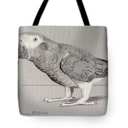 Timneh Grey Parrot Tote Bag