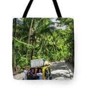 Tuk Tuk Trike Taxi Local Transport In Boracay Island Philippines Tote Bag