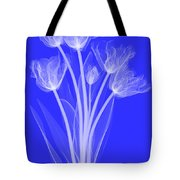 Tulips, X-ray Tote Bag