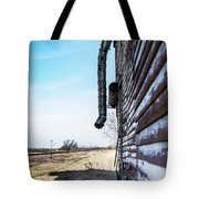 Vintage Grain Elevator Tote Bag