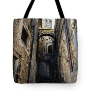Walking Through The Streets Of Pretoro - Italy  Tote Bag