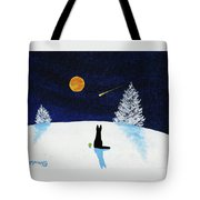Winter Star Tote Bag