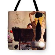 A Partner In Productive Advertising Alfred Parker Tote Bag