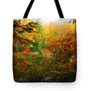 Nature Landscape Lighting Tote Bag