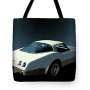 82 Corvette Generation C3 1968 To 1982 Tote Bag