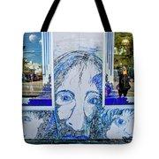 8261- Little Havana Mural Tote Bag