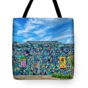8276- Little Havana Mural Tote Bag