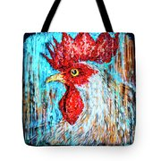 8288- Little Havana Mural Tote Bag
