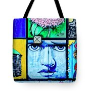 8292- Little Havana Mural Tote Bag