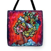 8334-1- Little Havana Mural Tote Bag
