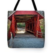 8350- Campbell's Covered Bridge Tote Bag