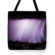 85255 Fine Art Arizona Lightning Photo Poster Tote Bag