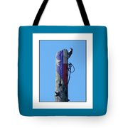 #8667 Woodpecker Tote Bag