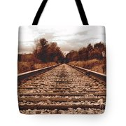86ed On The Tracks Tote Bag