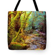 Nature Oil Painting Landscape Tote Bag