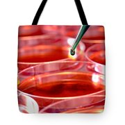 Laboratory Experiment In Science Research Lab Tote Bag