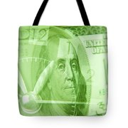 Time Is Money 17 Tote Bag