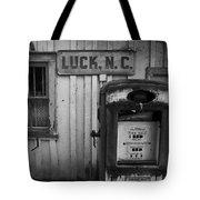 Luck Gas Pump Tote Bag