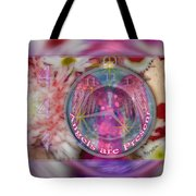 #8913_444 Angels Are Present 2 Tote Bag