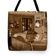 8th Ave Trolley Tote Bag