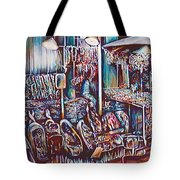 8th Street Rings Tote Bag