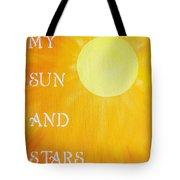 8x10 My Sun And Stars Tote Bag